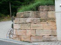 Beschreibung Natursteinmauer